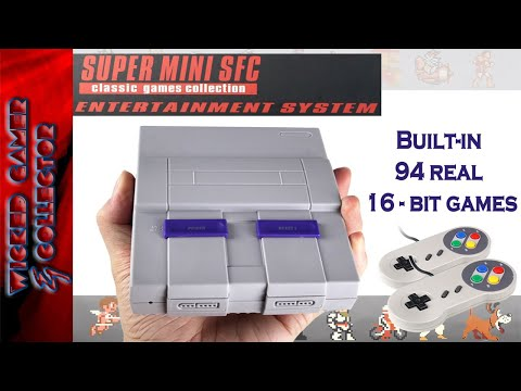 The Real 16-bit SNES Mini Classic China Clone Console is HERE !!