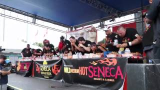 preview picture of video '2014 National Chicken Wing Eating Competition | Buffalo, NY'