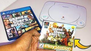 Jugando GTA 5 en PS1 😂 (Me Estafaron)