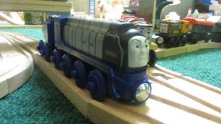 Light Up Reveal Annie Clarabel 2016 Thomas Wooden Railway Review