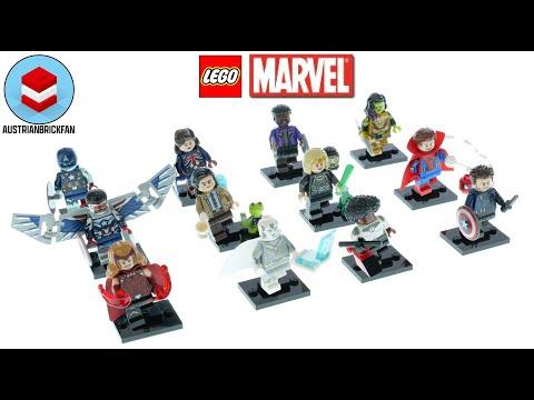 Vidéo LEGO Minifigures 71031 : LEGO Minifigurines Marvel Studios (Sachet Surprise)