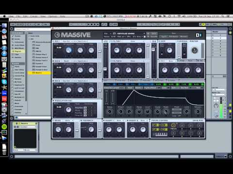 How to make your own sounds in Massive