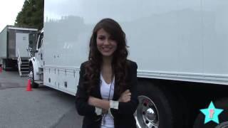 Виктория Джастис, On Set of Victoria Justice's Werewolf Movie!