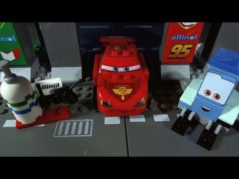 Vidéo LEGO Cars 8679 : Le circuit international de Tokyo