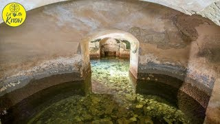After Lakes Were Drained At A British Palace, It Revealed An Astonishing Network Of Secret Rooms