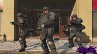 GTA 5: Juggernaut Suit Bank Heist Mission - The Paleto Score - GTA V Gameplay