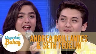 Andrea tells how Seth is protective of her  | Magandang Buhay