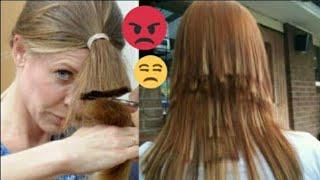 Você já cortou o cabelo sozinha? - Comente ai sua experiência - desventuras em serie - Heder Freire