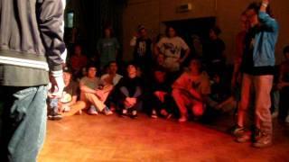 Ben & Kovi vs Chernika & Vinni Hip-Hop 2x2 Kids Christmas Battle 2011