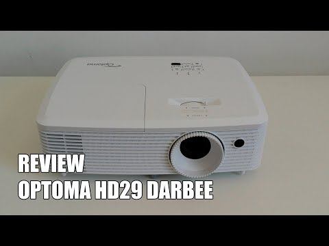 Review Optoma HD29 Darbee Nuevo Proyector Full HD 3D DLP 2017