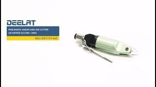 Pneumatic Shear and Air Cutter or Nipper (0.5 mm, 1 mm)     SKU #D1151446