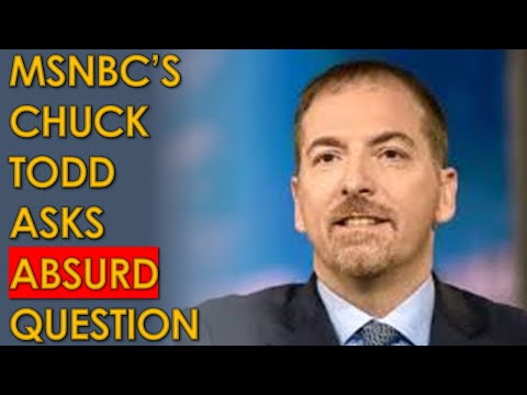 "Chuck Todd ATTACKS Joe Biden for Taking COVID ""Too Seriously"" on MSNBC"