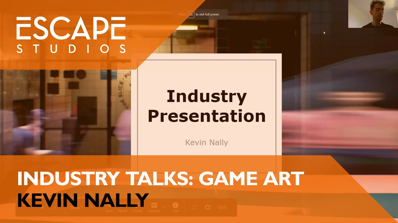 Escape Studios: Industry overview Games