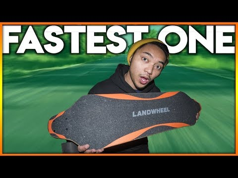 MY FASTEST ELECTRIC SKATEBOARD – Landwheel Review