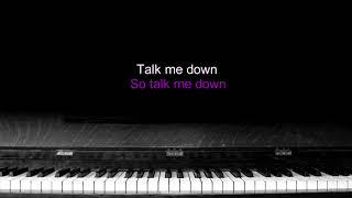 Westlife - Talk me down - Karaoke