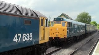 preview picture of video 'Epping & Ongar Railway April 2014 Diesel Gala'