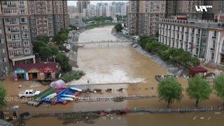 فيضانات مدمرة في الصين لم تشهدها منذ ألف عام