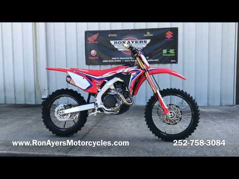 2020 Honda CRF450RWE in Greenville, North Carolina - Video 1