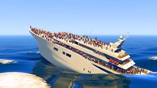 CAN 100+ PEOPLE SINK THE YACHT IN GTA 5?