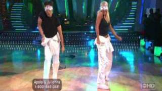 Dancing with the Stars - Apolo and Julianne (Freestyle)