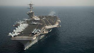 USS Theodore Roosevelt (CVN-71) returning to San Diego