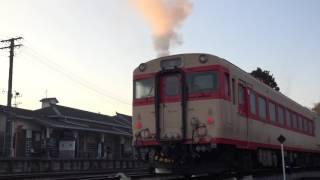 いすみ鉄道 キハ28 2346 エンジンスタート 【DMH17H】