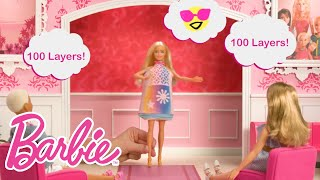 100 Layers of Clothes Designed and Worn by Barbie® Crayola™ Color Magic Station™ Doll | Barbie