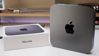 2018 Mac Mini - Unboxing, First Look and Benchmarks