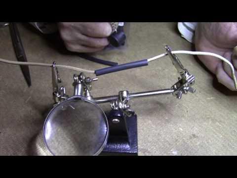 Was ein Schrumpfschlauch ist und wie man ihn benutzt ( shrink tubing , shrinkdown )