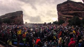 """The String Cheese Incident - """"On The Road"""" - Red Rocks 2012 HD Timelapse"""
