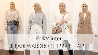 Top 10 Hijabi Wardrobe Essentials | Fall/Winter Outfit Ideas