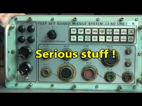 Guided missile test set teardown