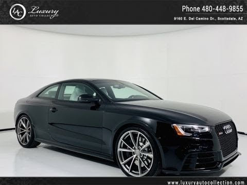 Pre-Owned 2015 Audi RS 5 Quattro Coupe