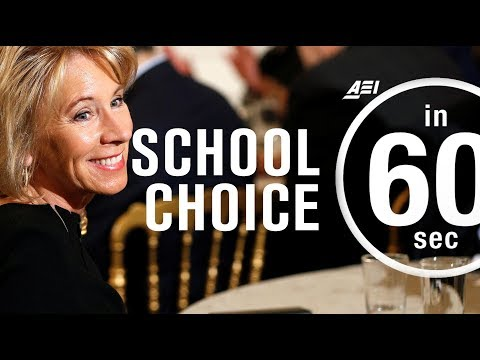Education reform: The real promise of school choice | IN 60 SECONDS