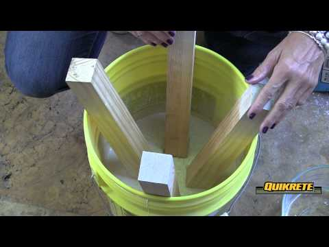 IDEAS CONCRETAS: Cómo hacer un taburete en concreto