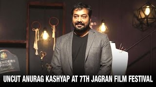 UNCUT  Shah Rukh Khan Was The Luckiest Anurag Kashyap  7th Jagran  Latest Bollywood News