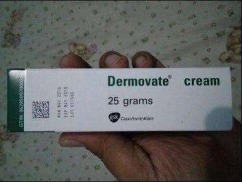 Video Dermovate Cream  Menghilangkan bekas luka dan mencerahkan kulit dengan cepat