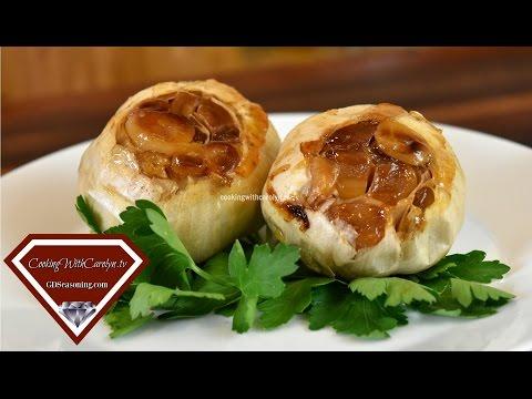 How to Roast Fresh Garlic  A Garlic Lover's Dream  Cooking With Carolyn
