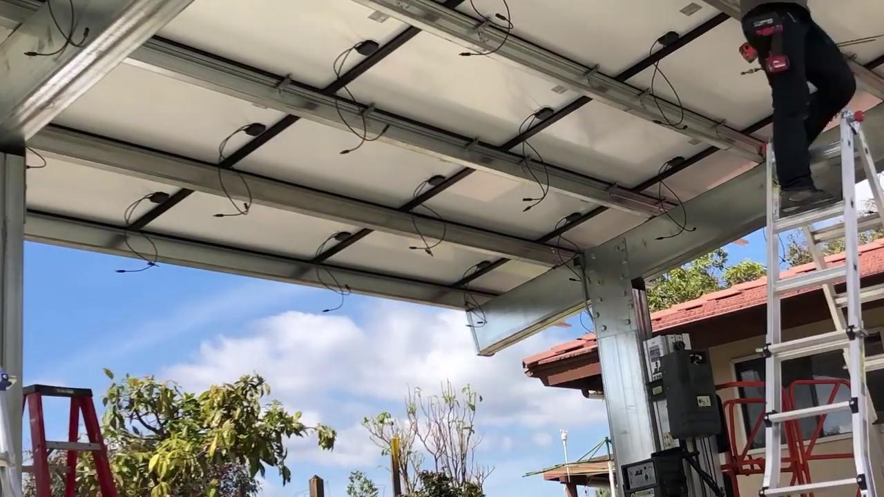 Clayco Solar Carport Installation