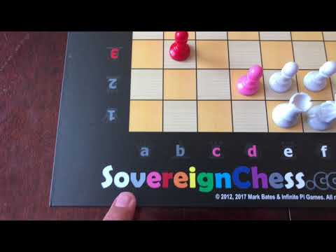 Using the Sovereign Chess game board as a start guide