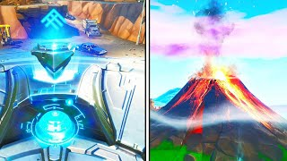*NEW* VOLCANO ERUPTING EVENT in Fortnite!