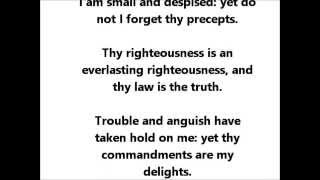 Psalm 119 Song