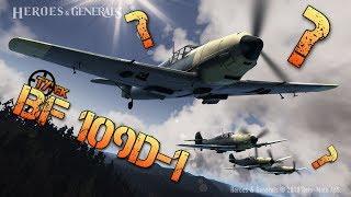 Heroes & Generals - Test Messerschmitt BF109D-1