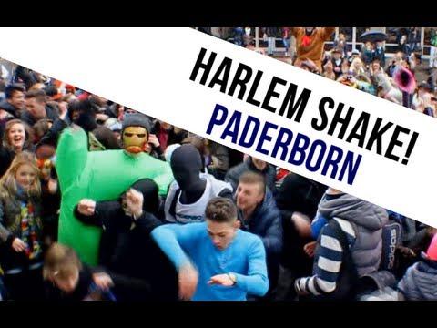 Harlem Shake Flashmob in Paderborn