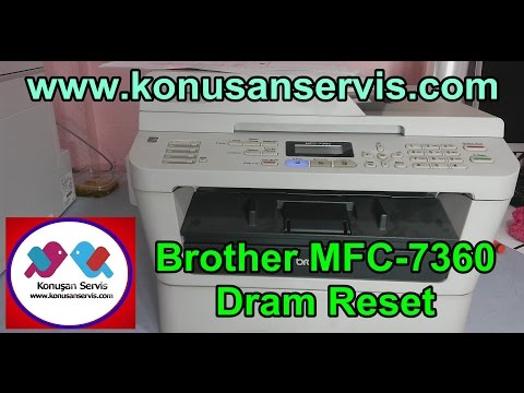 Brother Drum Reset (MFC 7360) Mp3
