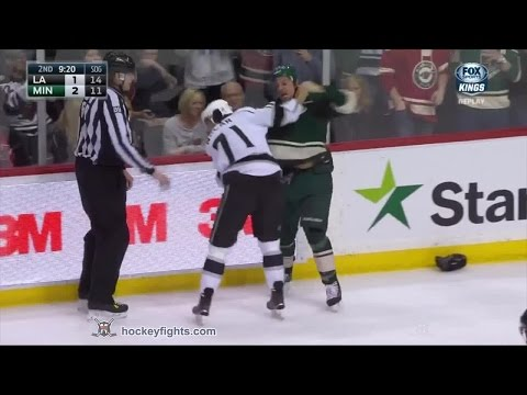 Jordan Nolan vs Chris Stewart