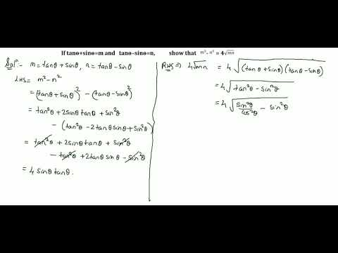 Trigonometry Part 46 Solutions for Class 10 CBSE