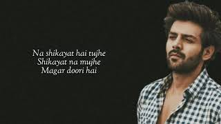 Yeh Dooriyan (Lyrics) Love Aaj Kal 2   Mohit Chauhan   Sara