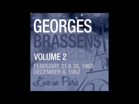 Georges Brassens - Les amours d'antan (Live February 21, 1960)