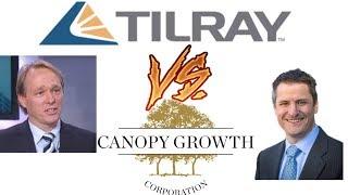 Stock wars 5: Canopy growth corp vs Tilray